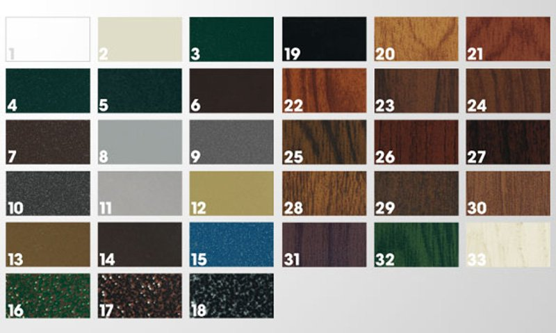 Culori aluminiu